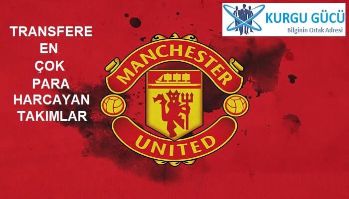 Transfere En Çok Para Harcayan Takımlar - Manchester United - Kurgu Gücü