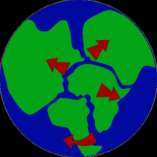 Questões Resolvidas: Evolução da Terra e Fenômenos Geológicos