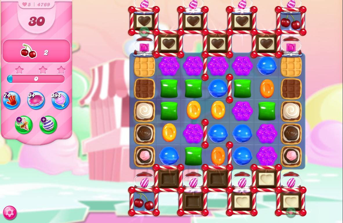 Candy Crush Saga level 4769