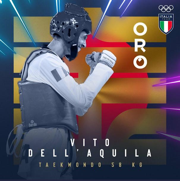 Tokyo 2020: Dell'Aquila  è oro, vola in finale per il taekwondo