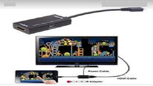 Cara Menyambungkan HP ke TV