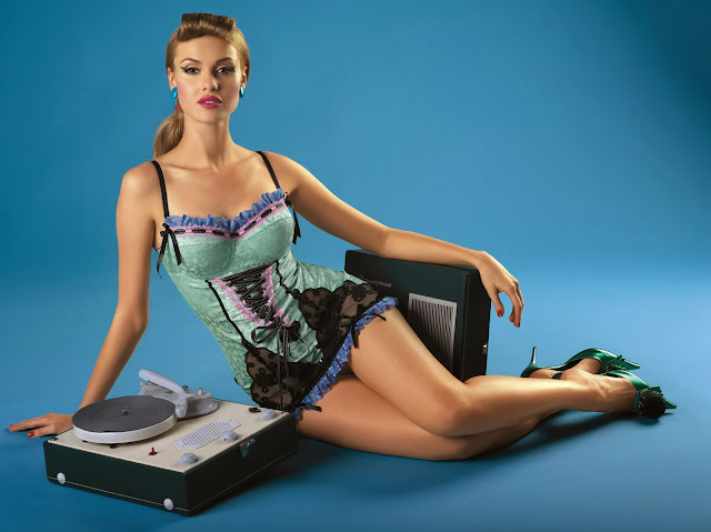 Kinga Lingerie – Pin Up Girl Collection