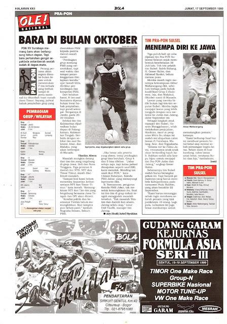 SEPAKBOLA INDONESIA PRA-PON
