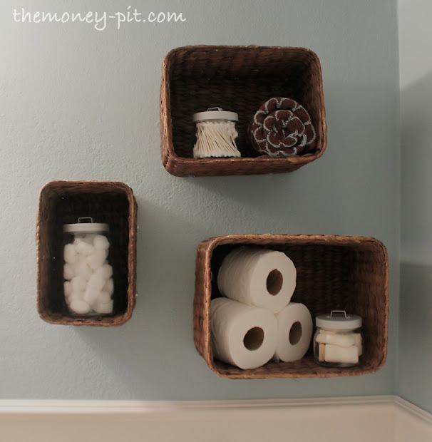 Baskets into Shelves