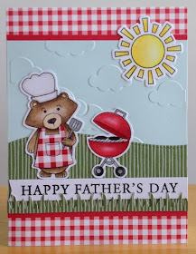 Happy Father's Day by Jennifer M. features Winston's BBQ by Newton's Nook Designs, #Newton's Nook
