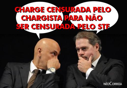 Do Barão para Dias Toffoli e Alexandre de Moraes:  Homens medíocres, atos medíocres!  Sem mais.
