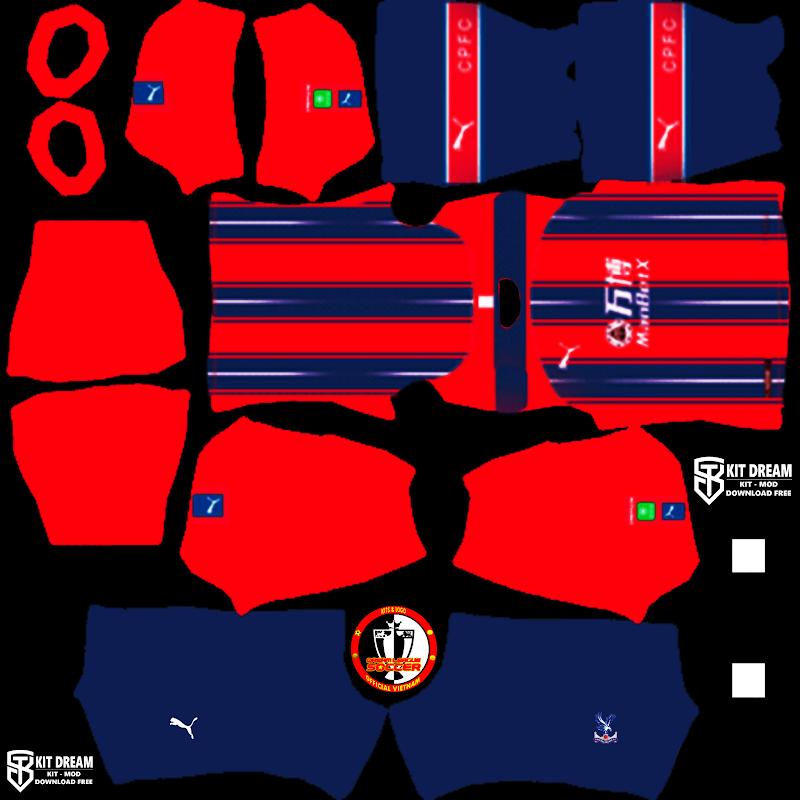 Kits Crystal Palace - Dream League Soccer 2021