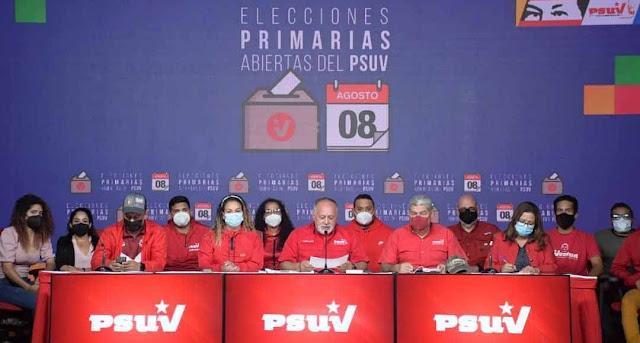 PSUV ANUNCIA RESULTADOS IRREVERSIBLES EN 14 ESTADOS Y ALCALDÍA DE CARACAS