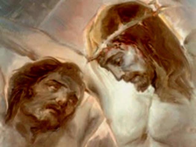 Maximes du  Saint Magistère et des Évêques, Confesseurs, Docteurs - Page 15 JES%C3%9AS+Y+SAN+DIMAS