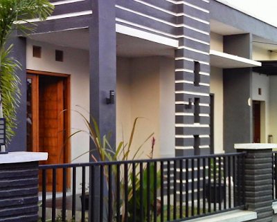 desain tiang rumah minimalis