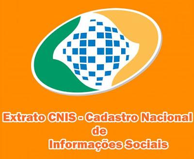 Extrato CNIS pela internet