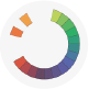 Using this color scheme incorporating complementary and analogous colors