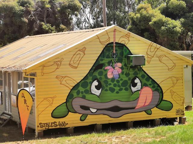 Wagga Wagga Street Art by Styles400_