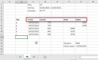 Power Query: Recuperar datos en cualquier posición