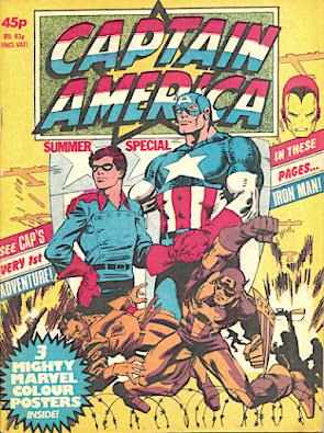 Captain America summer special 1981