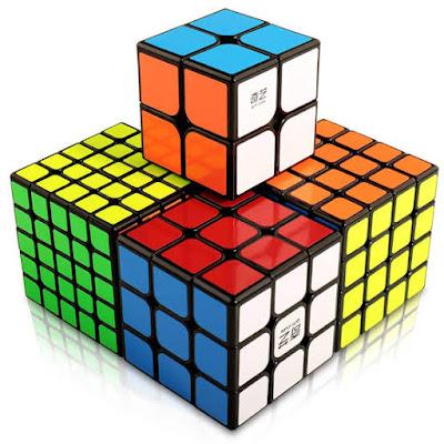 Aneka ukuran Rubik's cube big cubes 3x3x3 2x2x2 4x4x4 5x5x5