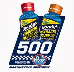 Race 33: Goody's Headache Relief Shot 500 at Martinsville