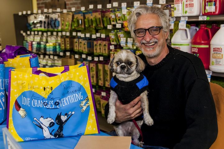 MUTTS Creator Patrick McDonnell supports the  PetCo Foundation's Love Changes Everything