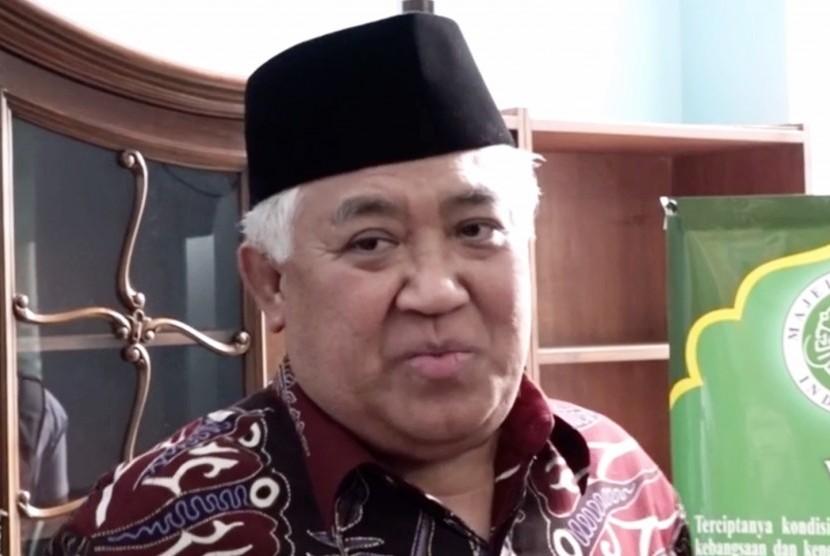 Din Syamsuddin Buka Suara Soal Fitnah Terhadap Ustadz Adi Hidayat