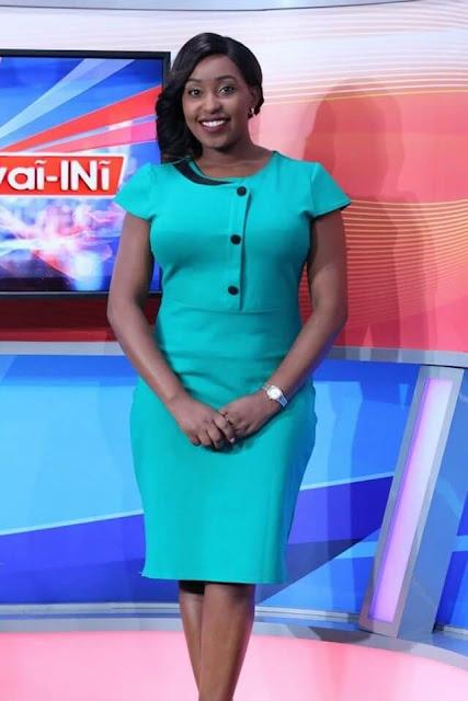 Inooro TV presenter Winrose Wangui. PHOTO | FB