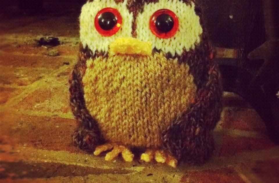 Knitting Kfb Twice : Sincerely louise free tweed owl knitting pattern