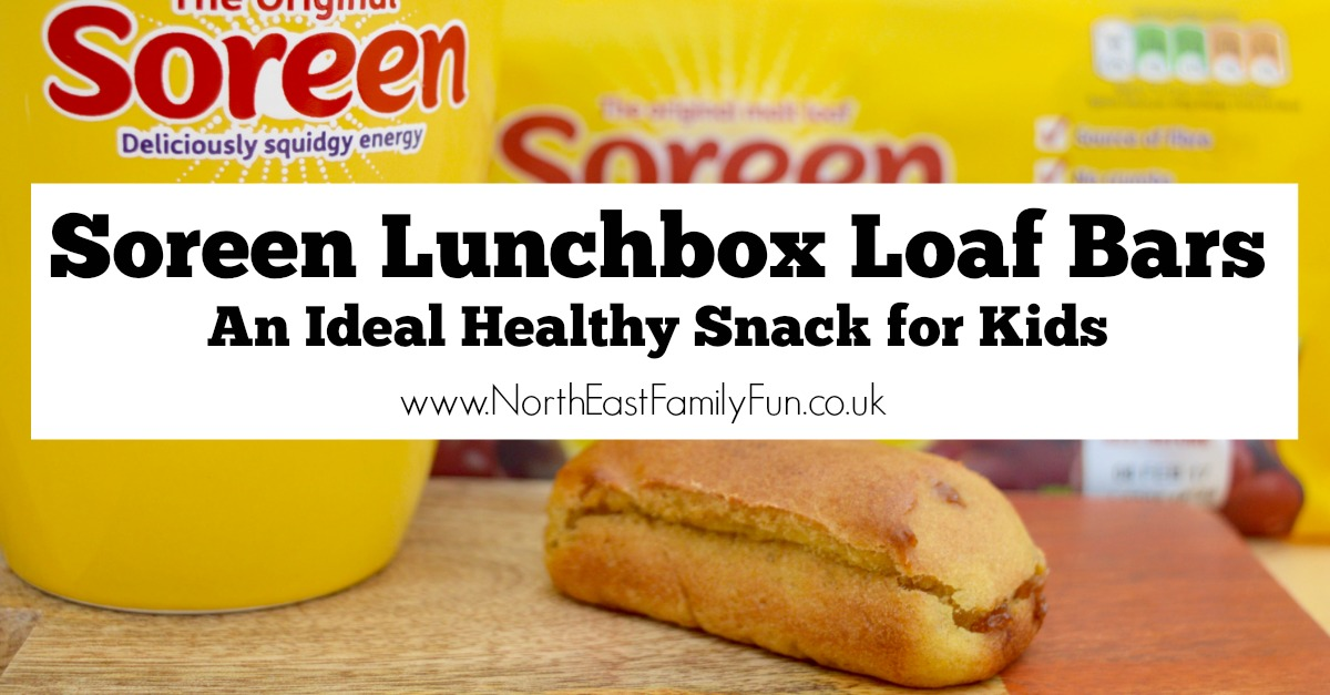 Soreen Lunchbox Loaf Bars | An Ideal Healthy Snack for Kids that is low in saturated fat.