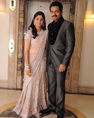 Karthi and Ranjani wedding reception