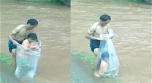 Quốc tế bình luận cảnh vượt suối ở Việt Nam