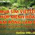 Cách Mua Sim Viettel Hợp Mệnh Hỏa Tại Huyện Đam Rông