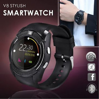 Smart Watch V8 - 003 - Multi Color Fleetworkers