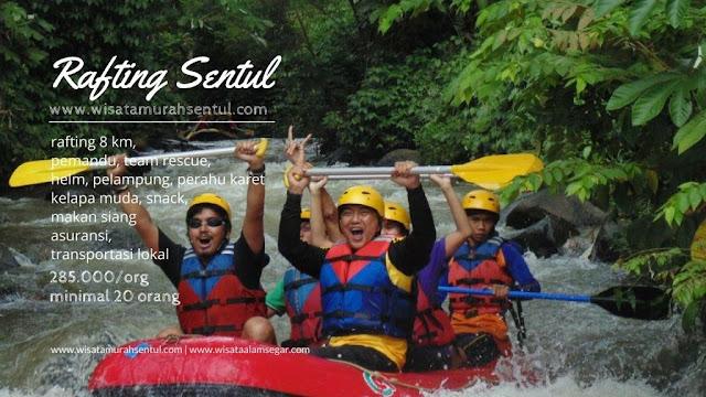 Tempat Rafting Arung Jeram di Sentul, Bogor