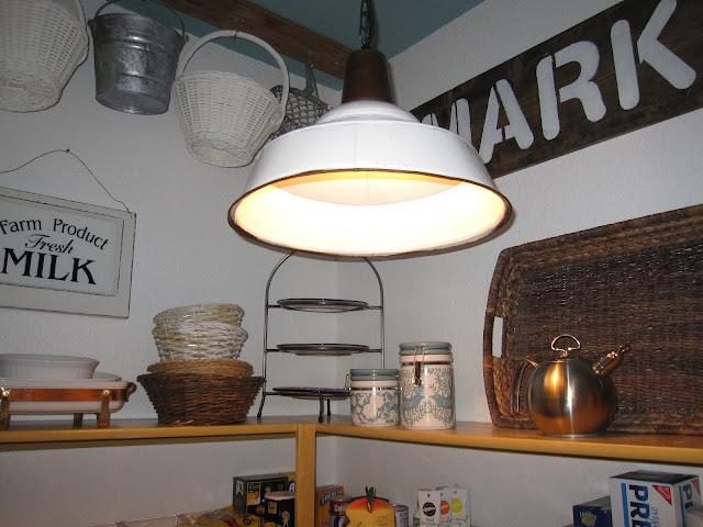 El Paso Import Co. industrial light fixture