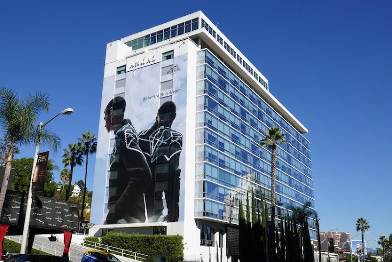 Giant Hermès It starts with a dream billboard