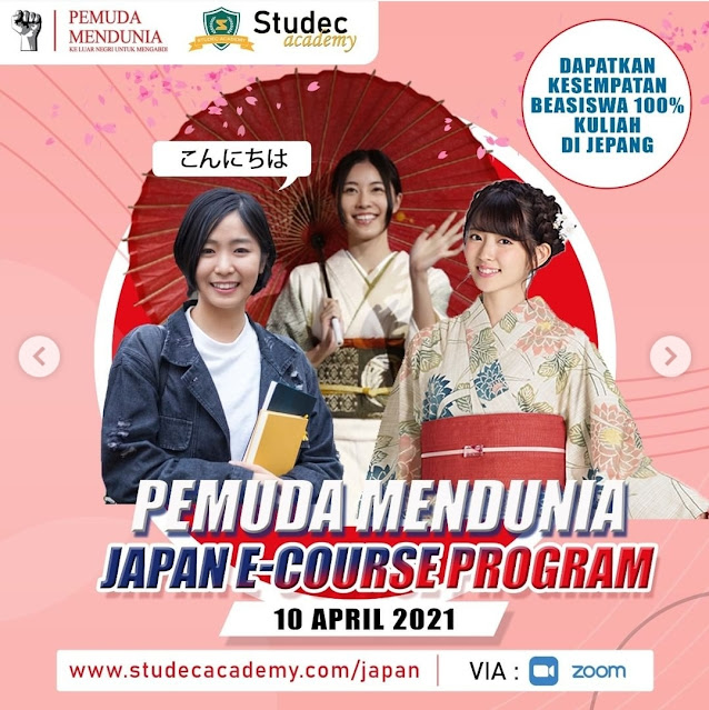 Pemuda Mendunia E-Course Program Spesial Edition ke JEPANG