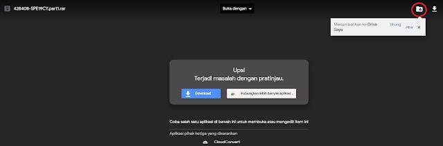 mengatasi link google drive tidak bisa di download