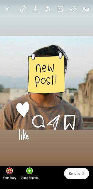 Add new post suspense