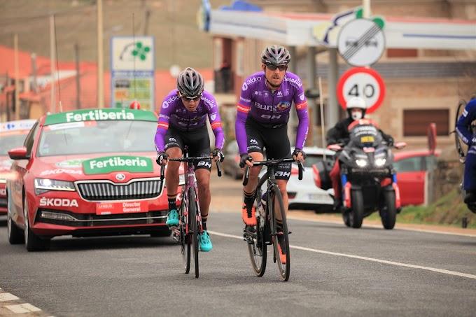 El Burgos - BH se dejó ver en la penúltima etapa de la Vuelta