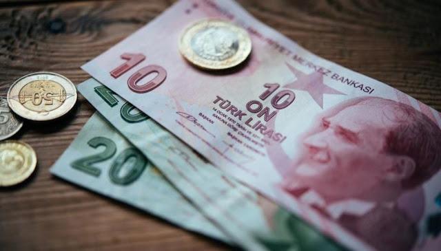 انخفاض كبير جدا في سعر الليرة التركية حيث تتراجع لأضعف مستوى منذ 8 أشهر