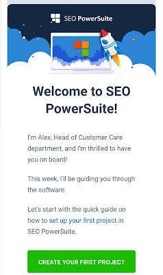 رسالة على بريدك الإلكتروني تسمح لك بتحميل برنامج seo powersuite والتعرف على مهامه (ربح المال من الإنترنت بسرعة2020)