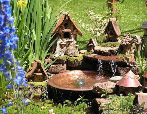 water features, toad gardens