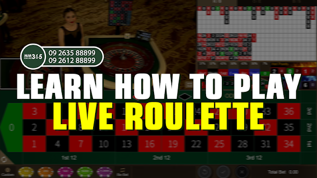 Learn How To Play Live Roulette