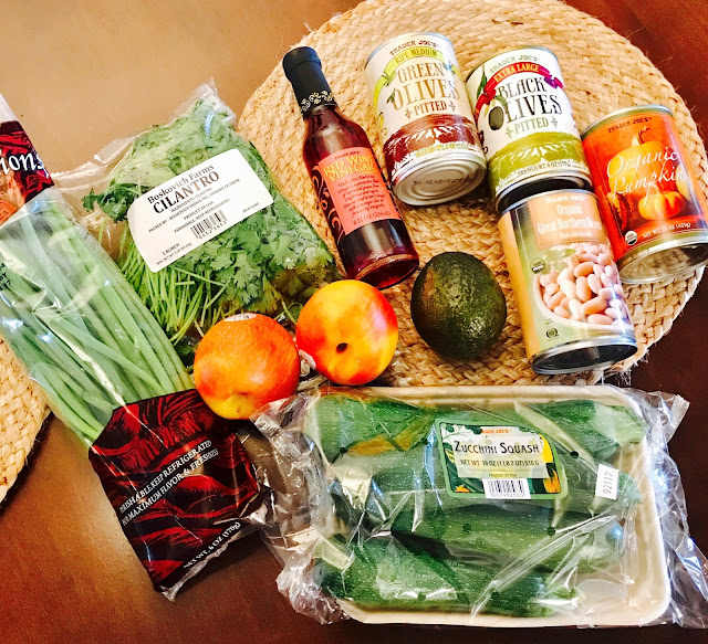 Vegetables and fruits Trader Joes haul vegan shopping