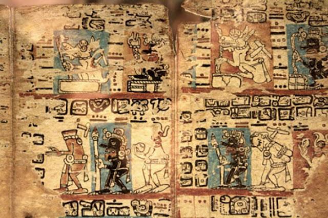 Escrita dos antigos maias