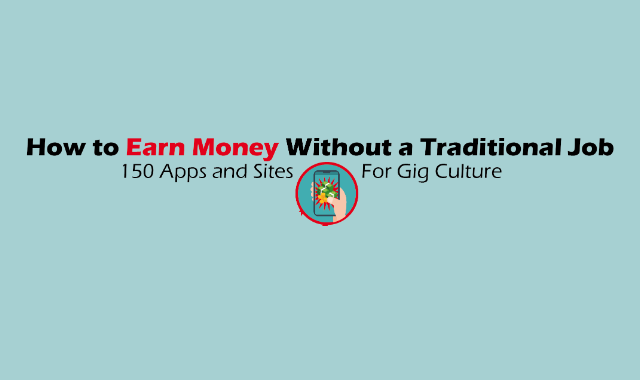 Ways to Earn Money Without a 9-5 Job #infographic