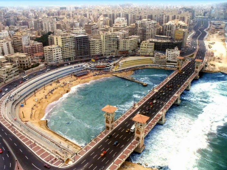 22. Alexandria, Egypt - 30 Best and Most Breathtaking Cityscapes