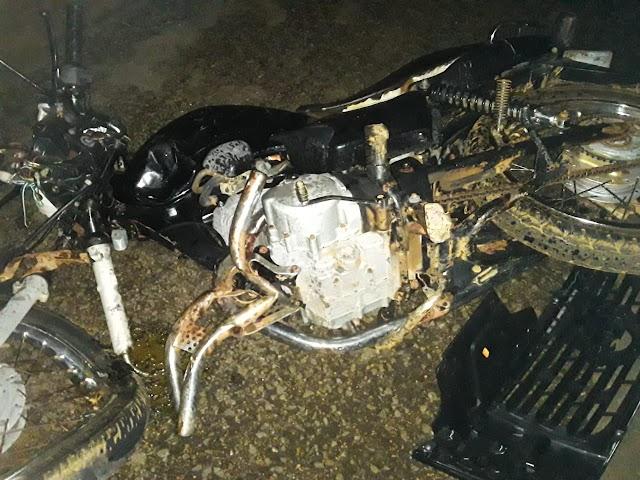 FATAL: Lavrador morre vítima de acidente com moto na zona rural de Elesbão Veloso.
