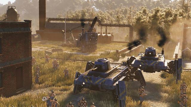 Iron Harvest battle gameplay