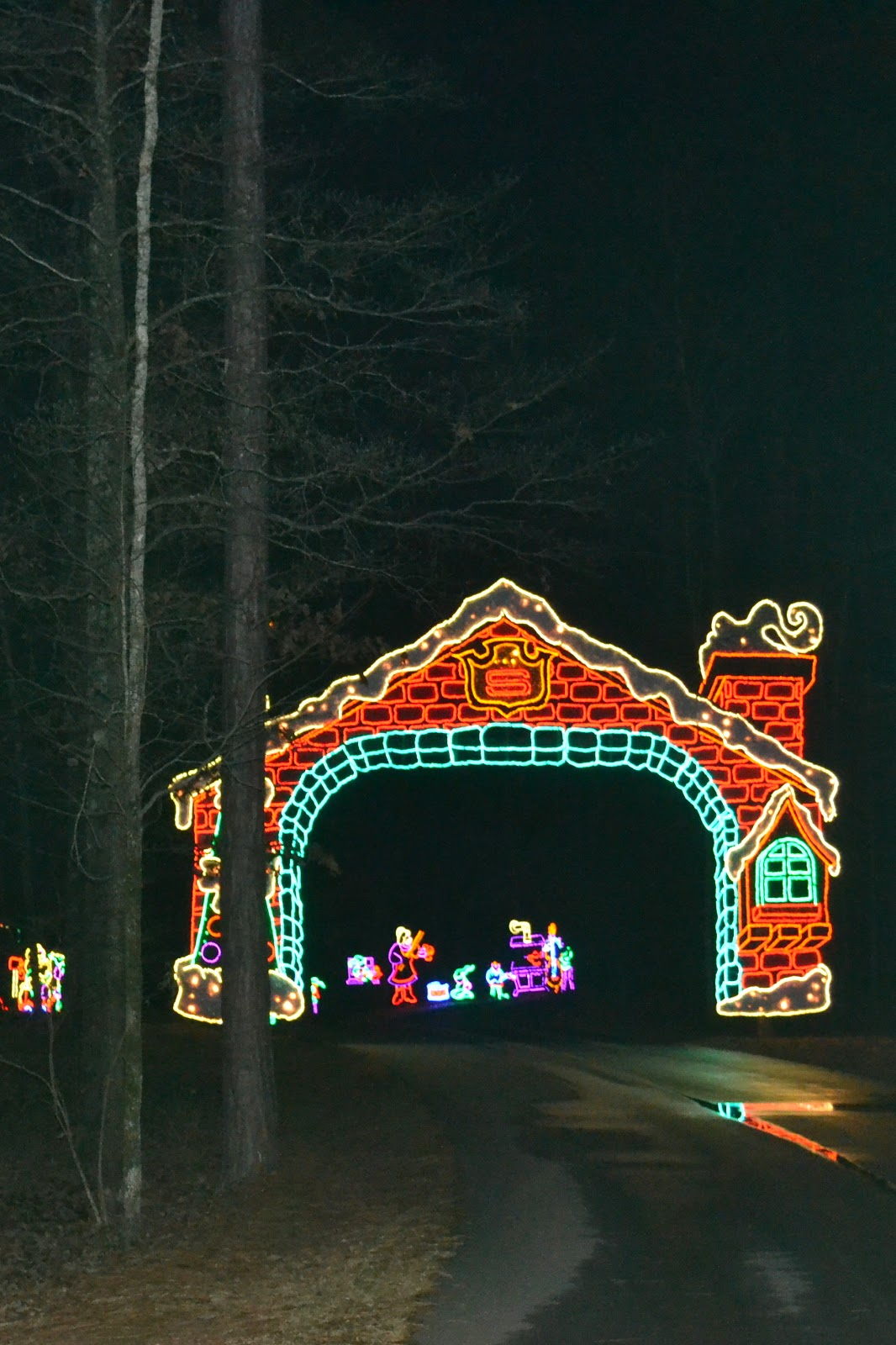 Hold on to your hats callaway gardens fantasy in lights - Callaway gardens christmas lights ...