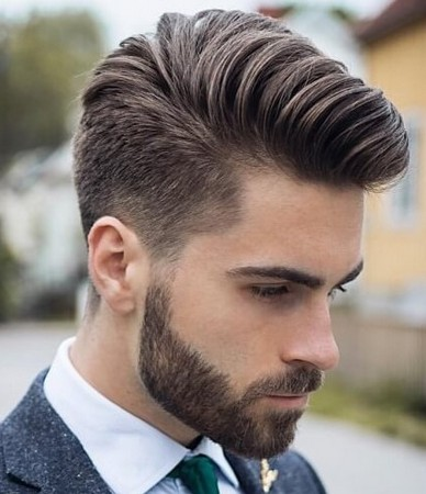 gaya rambut old school 2019