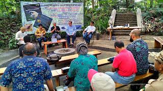 Launching dan bedah buku Raptor Tahura Djuanda